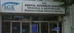 Beşiktaş Sosyal Güvenlik Merkezi SGK, Fatih, İstanbul