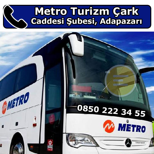 Metro Turizm Çark Caddesi Şubesi, Adapazarı, Sakarya