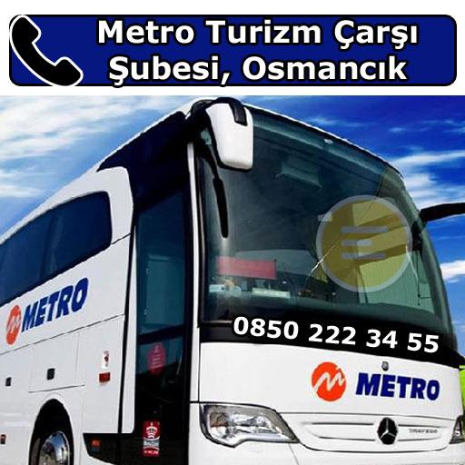 Metro Turizm Çarşı Şubesi, Osmancık, Çorum