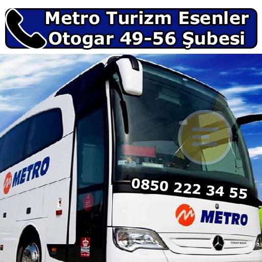 Metro Turizm Esenler Otogar 49-56 Şubesi, Bayrampaşa, İstanbul