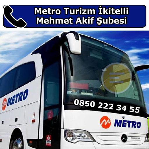 Metro Turizm İkitelli Mehmet Akif Şubesi, Küçükçekmece, İstanbul