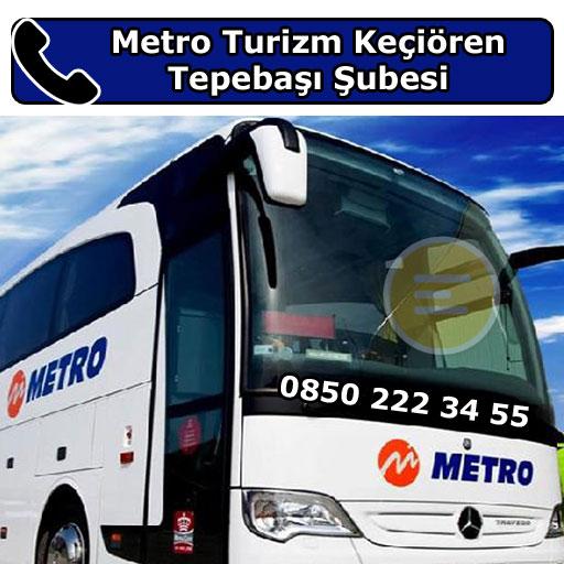 Metro Turizm Keçiören Tepebaşı Şubesi, Keçiören, Ankara