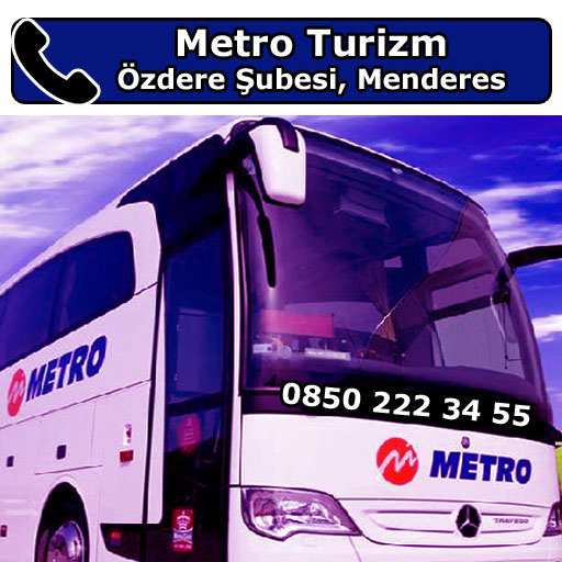 Metro Turizm Özdere Şubesi, Menderes, İzmir
