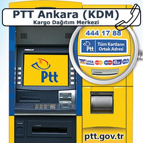 PTT Ankara (KDM) Kargo Dağıtım Merkezi, Yenimahalle, Ankara