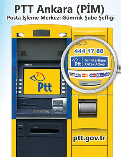 PTT Ankara (PİM) Posta İşleme Merkezi Gümrük Şube Şefliği, Yenimahalle, Ankara