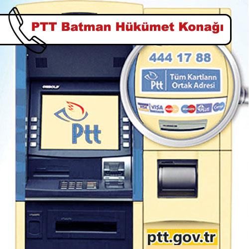 PTT Batman Hükümet Konağı, Merkez, Batman