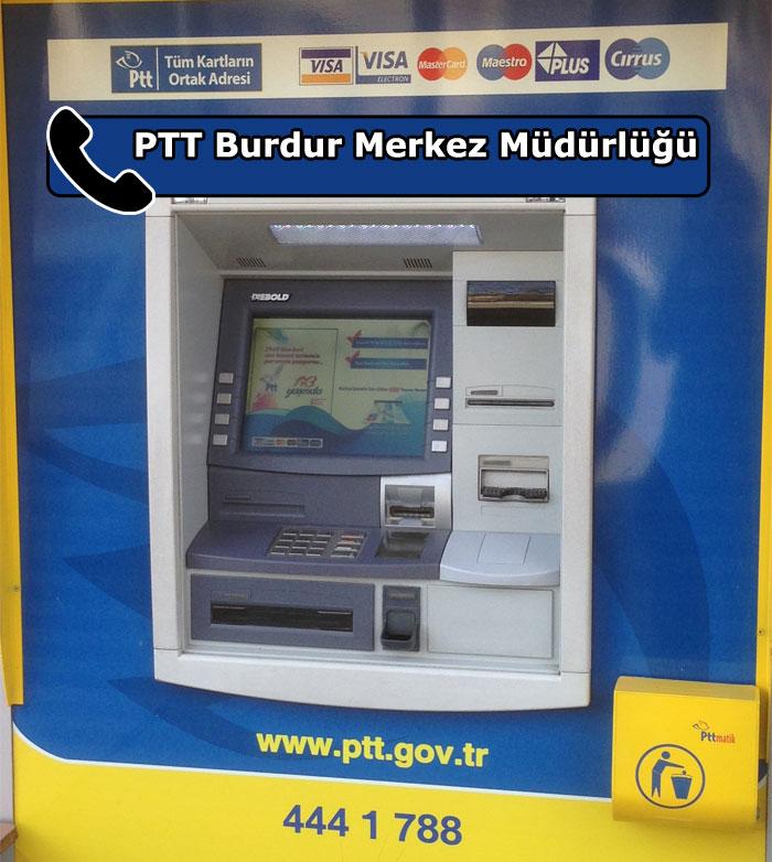 PTT Burdur Merkez Müdürlüğü, Merkez, Burdur