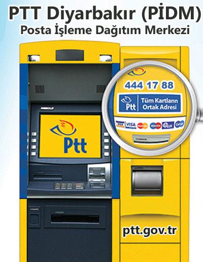 PTT Diyarbakır (PİDM) Posta İşleme Dağıtım Merkezi, Kayapınar, Diyarbakır