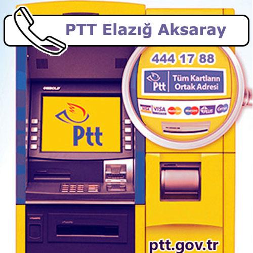 PTT Elazığ Aksaray, Merkez, Elazığ