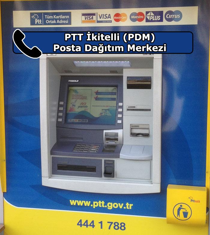 PTT İkitelli (PDM) Posta Dağıtım Merkezi, Küçükçekmece, İstanbul