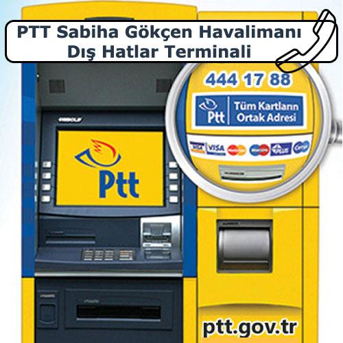 PTT Sabiha Gökçen Havalimanı Dış Hatlar Terminali, Pendik, İstanbul