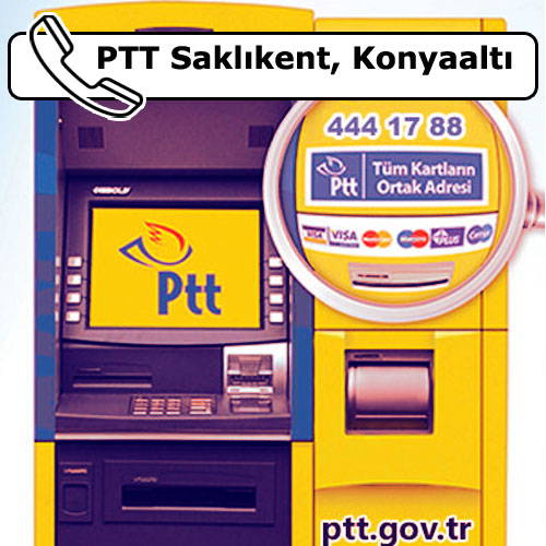 PTT Saklıkent, Konyaaltı, Antalya