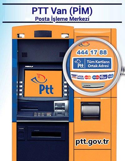PTT Van (PİM) Posta İşleme Merkezi, İpekyolu, Van