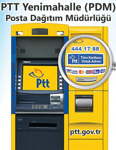 PTT Yenimahalle (PDM) Posta Dağıtım Müdürlüğü, Yenimahalle, Ankara